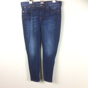 J Crew High Rise Stretch Jeans Sz 12